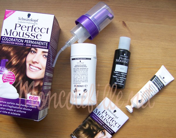 la coloration en mousse on narrte plus linnovation - Mousse Colorante Schwarzkopf