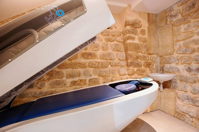 cabine massage eau H20 Paris l'entrepot