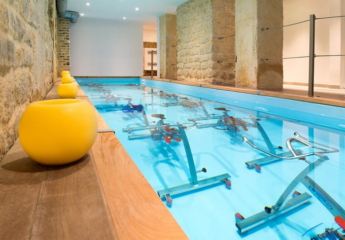 piscine aquabike l'entrepot Paris