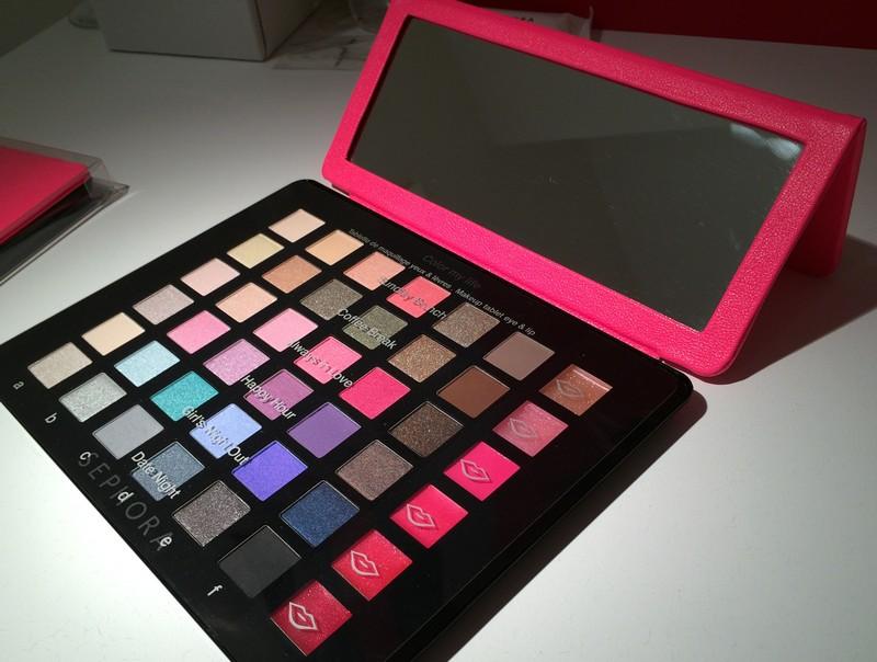 Focus sur la palette color my life de sephora - Tablette de maquillage ...