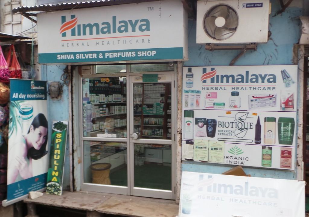 Boutique cosmétique Himalaya