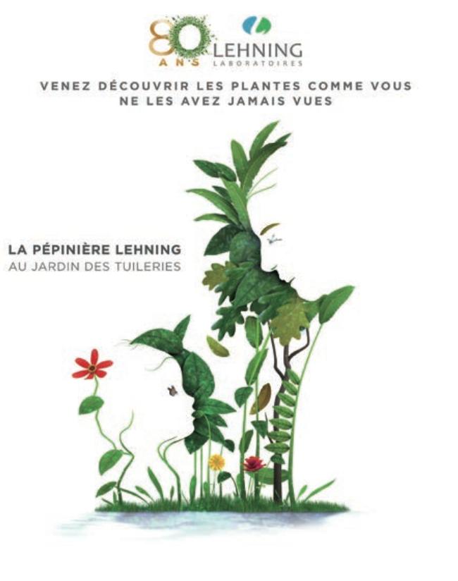 Exposition 80 ans Lehning à Paris au jardin des tuileries