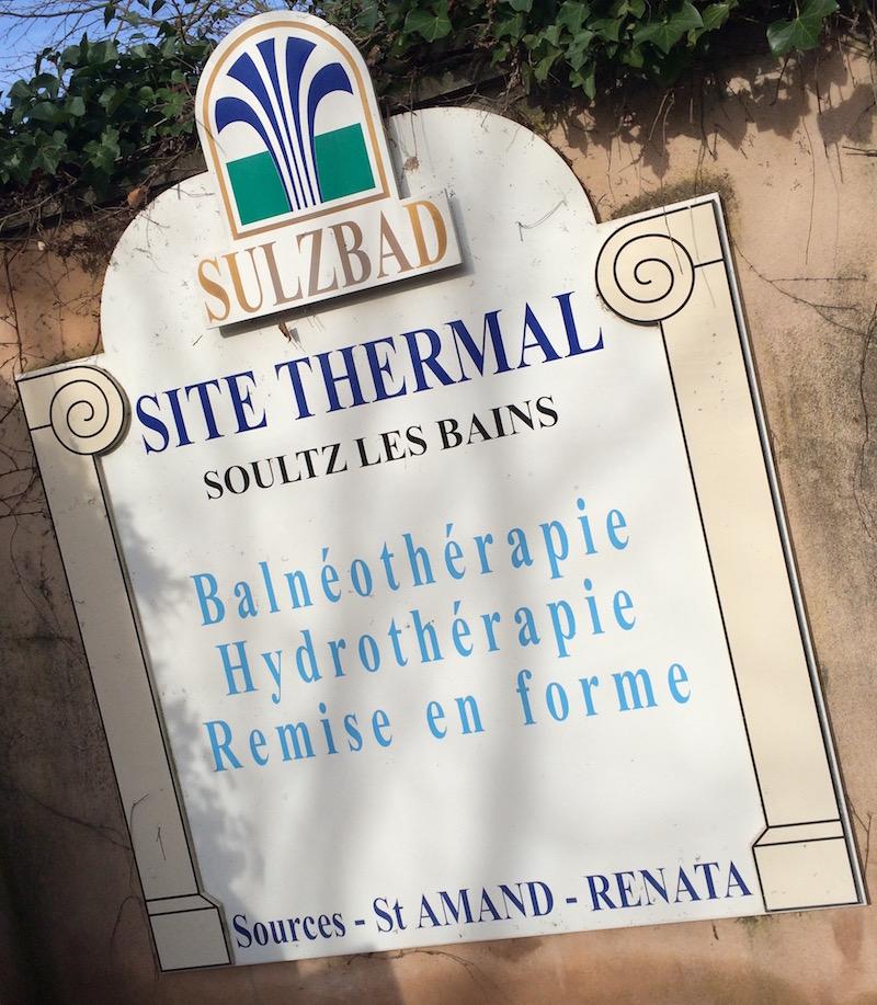Spa Thermal Sulbad à soultz les bains